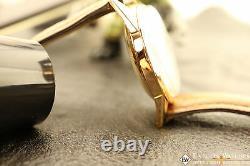 1950s Serviced Vintage Chronographe Suisse 18K Gold Lemania Cal 1270 (320 / 321)