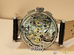 1950s Serviced Vintage Lemania Chronograph Cal CH27 C12 (Omega 321) Watch Moon