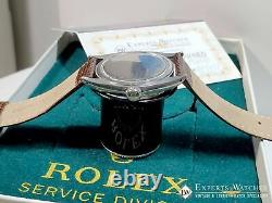 1963 Vintage Rolex Oyster Royal Perpetual 6426 Precision Watch Champagne Dial BX