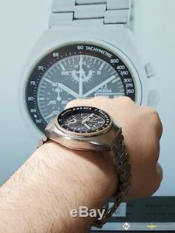 1975 Vintage Omega SpeedMaster Chronograph Mark 4.5 Ref 176.0012 Day Date Watch
