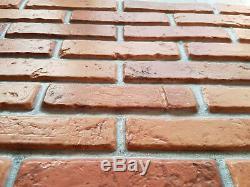 3D Wall Panels Plastic Stone Brick Decorative Tiles Cladding PVC BRICK NATURAL