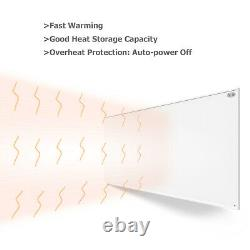 580W Far Infrared Panel Heater with Built-in Thermostat Remote