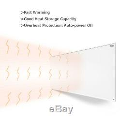 700W Far Infrared Panel Heater Electric Wall Mounted Heating Panel with Switch