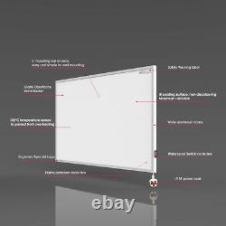 700W Infrared Heater with Built-in Thermostat Remote Electric Wall Heating Panel
