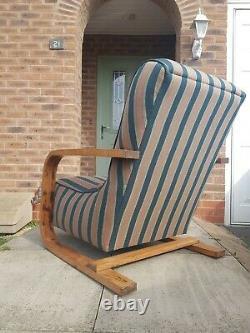 A Vintage Art Deco Halabala Style Armchair 2 available