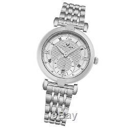Alexander Swiss Made Stainless Bracelet Ladies Quartz Sapphire Crystal Watch