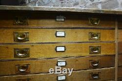 Antique church vestry cabinet, with provenance, 1929 Suitable kitchen island