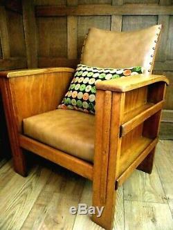 Art Deco Library Chair Circa 1930 Heals Style Club Chair Art Deco Armchair