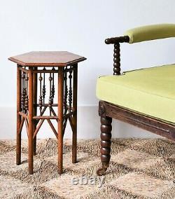 Attractive 19th Century Bobbin Desk Bedroom Sofa Side Table Chair Armchair