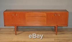 Attractive Very Large Retro 1970's Mcintosh Teak Sideboard Cabinet