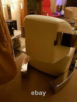 Aviator Aniline Leather Rocket Armchair / Club Chair