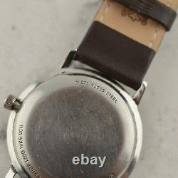 C. 1966 Vintage Longines Calatrava Art Deco dial watch ref. 2757-370 in steel
