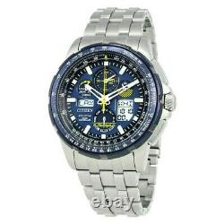 Citizen (JY8058-50L) Promaster Skyhawk Chrono Eco AT Blue Stainless Steel Watch