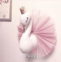 Cute Cotton Swan Wall Hanging Kids' Room Home Girls Bedroom Decoration Xmas Gift