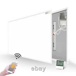 Far Infrared Panel Heater with Built-in WiFi Thermostat Temperature Sensor