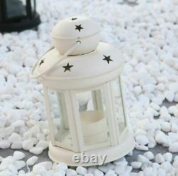 Garden Decoration Items Lantern Lamps Living Room With Wooden Shelve Set Of 2
