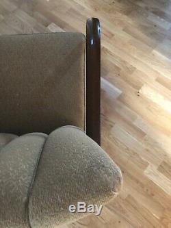 Halabala Style Art Deco Bentwood Armchair /Loft/Scandi/Easy/30s Sprungbase