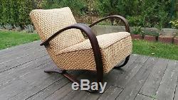 Halabala´s armchair H-269, art deco style, first half 20th century