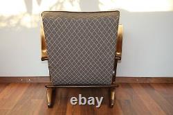 Halabala´s armchair H-269, art deco style, first half 20th century. Restored