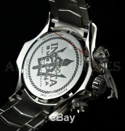 Invicta 50mm Subaqua Poseidon Bolt Chronograph TRITON Guard SS Bracelet Watch