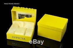 Invicta 52mm Reserve Venom Swiss MASTER CALENDER Silver Rose Gold Bracelet Watch