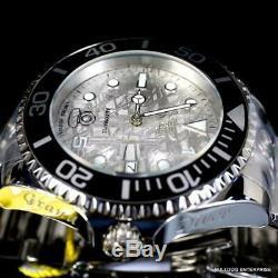 Invicta Grand Diver 15 Anniversary Meteorite Automatic SilverTone Steel 47mm New