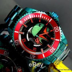 Invicta Star Wars Boba Fett Grand Diver Automatic 47mm Green Steel Watch New