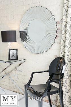 LARGE Starburst Large Luxury Wall Mirror 90cm (Artemis)