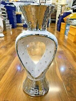Large 46cm Tall Floor Standing Beautiful Vase Mirror Ceramic Vase Home Decor