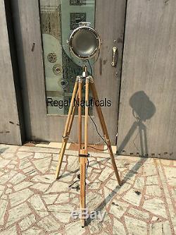 Marine Floor Searchlight Photography Spot Light Wood Floor Tripod