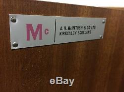 McIntosh Sideboard Mid Century G Plan Heals Drawers Danish Scandinavian Vtg 70s