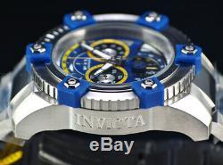 NEW Invicta Mens 63mm Grand Arsenal Swiss Chronograph ALIEN JOKER Dial SS Watch