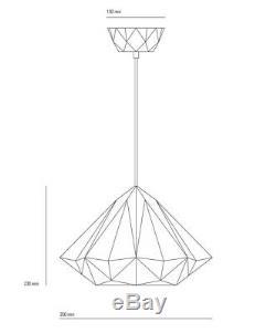Original BTC Hatton 2 Ceiling Pendant RRP £315