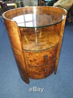 Rare Art Deco cocktail/occasional table c1930