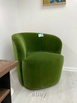 Ritz Tub Chair Fern Deep Velvet Swoon Editions £599