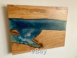 River Table Epoxy Wall Art, Epoxy Table