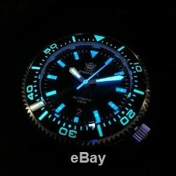 STEELDIVE 1000M Puck Homage NH35A Automatic Dive Watch Ceramic Sapphire BGW-9