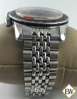 Serviced Vintage Enicar Sherpa Guide 600 GMT World Time Automatic Watch Tropical