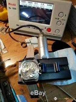 Serviced Vintage TISSOT Tropical PR 516 Chronograph Lemania 873 post 861 CH27