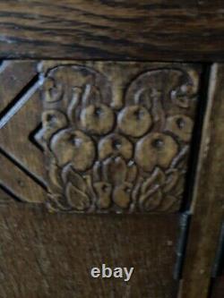 Stunning Art Deco Wooden Drinks Cabinet Side Board