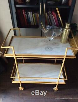 Swoon Editions Antique Brass & Marble