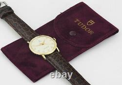 TUDOR Small Rose Solid Gold Vintage Mens Mint Condition Wrist Watch