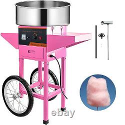 VEVOR Cotton Candy Machine withCart Commercial Electric Floss Machine Sugar Maker