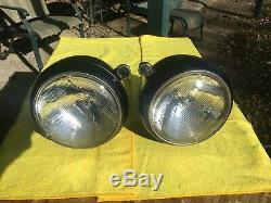 VINTAGE ACCESSORY GUIDE 682-STYLE HEADLIGHTS WithARROW TOPPERS HOT ROD RAT SCTA