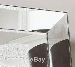 Vasto X Large Venetian Leaner floor wall Mirror Wide Bevelled Frame 183cm x 91cm