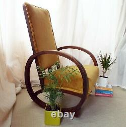 Vintage 1930s Rocking Chair by Heals of London