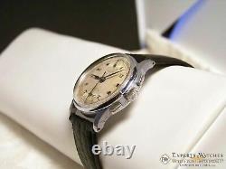 Vintage 1950's Rensie Military UP Down Chronograph Venus 170 Watch