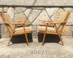Vintage Art Deco Design Armchairs (set of two) by Jaroslav mídek TON/Thonet
