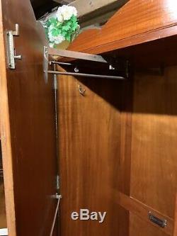 Vintage Aw-Lyn Gentlemen's Compactum Double Wardrobe