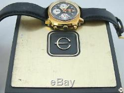 Vintage Elgin 60's Chronograph Valjoux 7736 Watch Panda Cal 330 (73643 814) Box